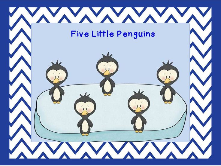 Classroom Freebies: Five Little Penguins Movie
