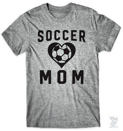 Proud soccer mom.
