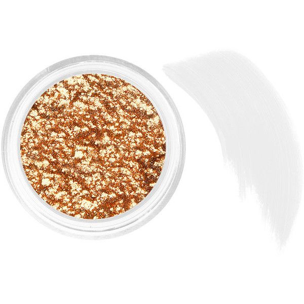 Stila Magnificent Metals Foil Finish Eye Shadow, Comex Gold 1 ea ($32) ❤ liked on Polyvore featuring beauty products, makeup, eye makeup, eyeshadow, beauty, stila, shiny eyeshadow, stila eye shadow and stila eyeshadow