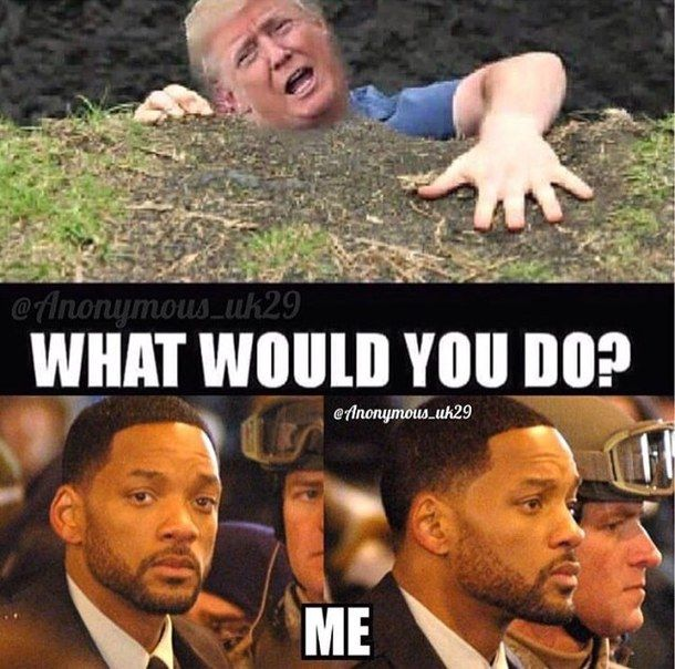 funny, will smith, donald trump<<< push him. And say die!!!!<< id help trump, but I'd let Hillary fall