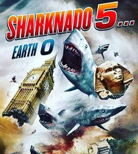 My annual Birthday / Sharknado watching party is August 6th!! We will start in the afternoon hanging out and watching other Sharknado movies... then we will enjoy #Sharknado5 together! Let me know if you're coming!!! :)