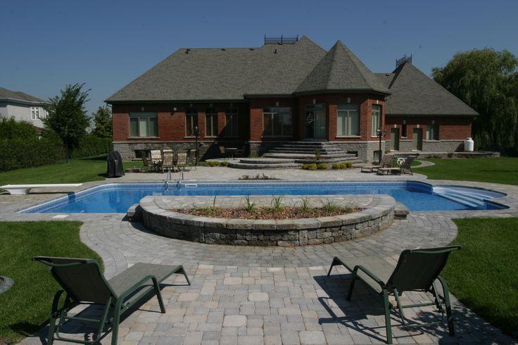 M s de 1000 ideas sobre piscine creus e en pinterest - Forme de piscine creusee ...