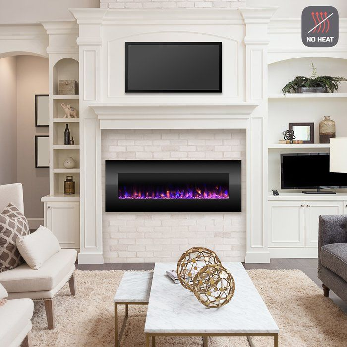 Quevedo Wall Mounted Electric Fireplace Electric Fireplace Wall Fireplace Wall Electric Fireplace