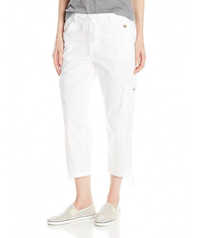 2f82dfb8ca7e Women's Cargo Capri Pant with Tie Leg - Bright White - CR127LOCU5R,Women's  Clothing, Pants #Pants #fashion #style #Pants