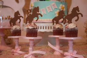 Truer words were never spoken!!      Horses...ahhhh they're just the best things EVER !! I had so much fun creating this dessert ta...