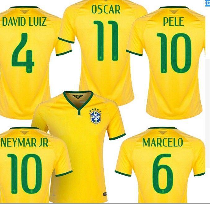 d929d9268 RONALDINHO FLUMINENSE ADIDAS AWAY JERSEY BRAZIL SOCCER FOOTBALL MAGLIA  TRIKOT adidas 2014 World Cup Brazil Jersey New arrival top Thailand Quality  ...