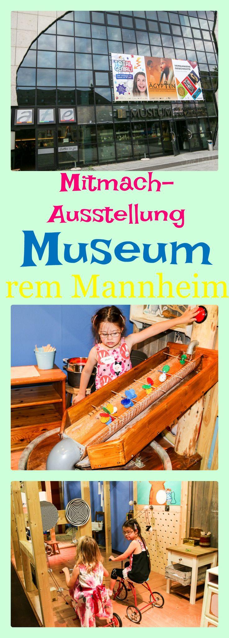 Die Mitmach-Ausstellung des rem Museum Mannheim ist für Kinder von 4 bis 104 und heißt Total Genial! Hier geht es um Erfindungen und alles darf angefasst und ausprobiert werden