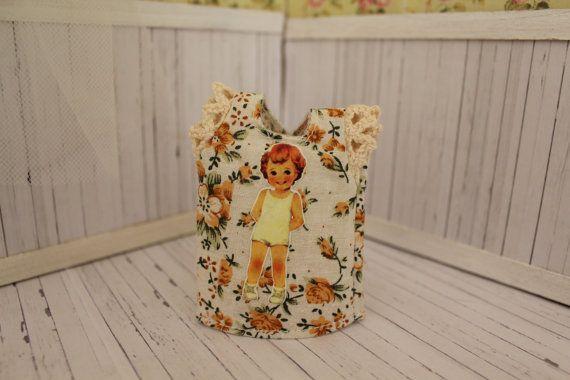 Blouse for doll 1/6 by MotaDeAlgodon on Etsy