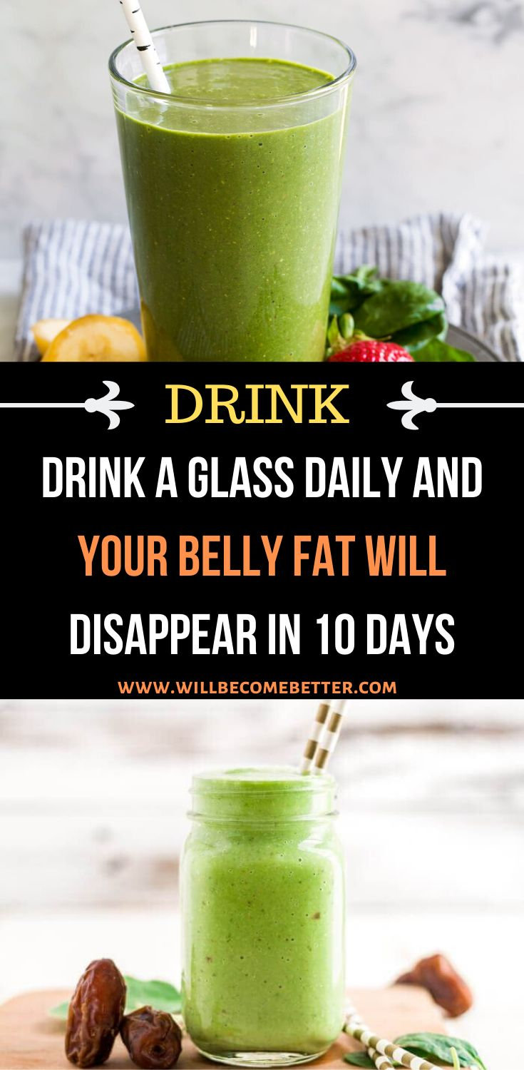 Drink a Glass Daily and your Belly Fat Will Disappear in 10 Days