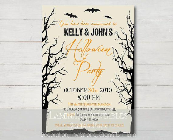 Best 25 Adult halloween invitations ideas – Costume Party Invitation Ideas