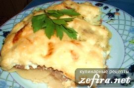 Рецепт моей картофельной запеканки с мясной начинкой