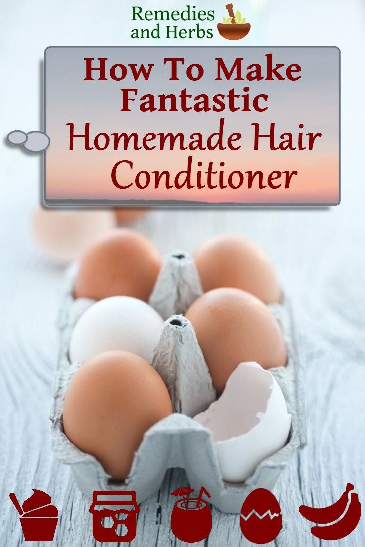 1000 Ideas About Homemade Hair Conditioner On Pinterest
