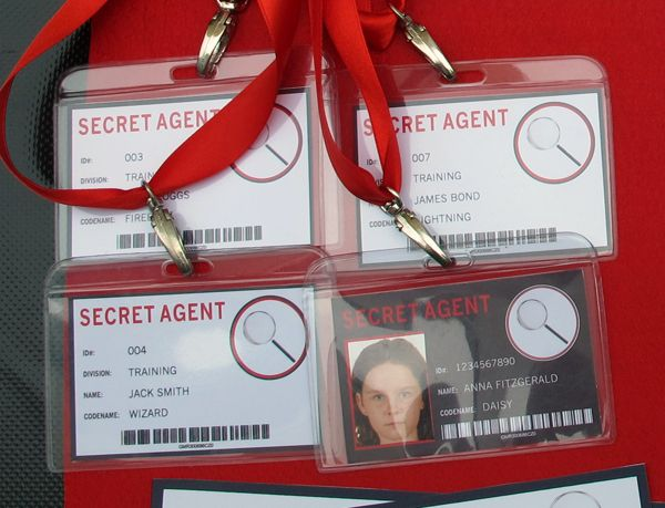 Spy or Secret Agent Invitation & Printable Birthday Party Collection