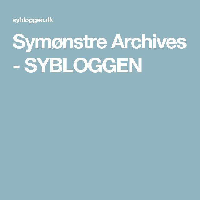 Symønstre Archives - SYBLOGGEN