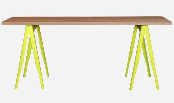 Tolix Y Trestle Table - thonet