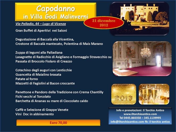 Cenone di Capodanno #iltorchioantico #restaurant #food and #drink #amazing #atmosphere #best #quality #lunch #dinner #italianfood #veneto #italy