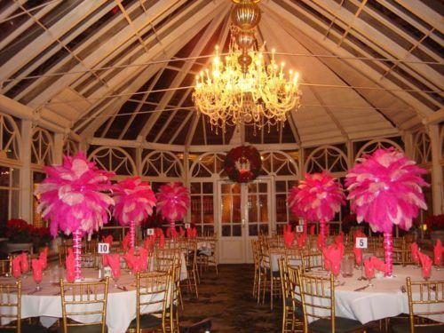 Victoria's Secret Theme Centerpieces Rentals Pretty in PInk Theme RENT today (631) 421-2286