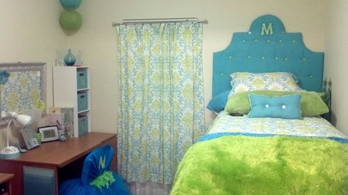 My daughters first dorm room at Georgia Southern  ~ 063030_Southern Dorm Room Ideas