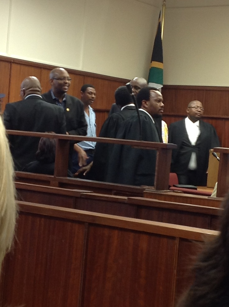 The prosecution team