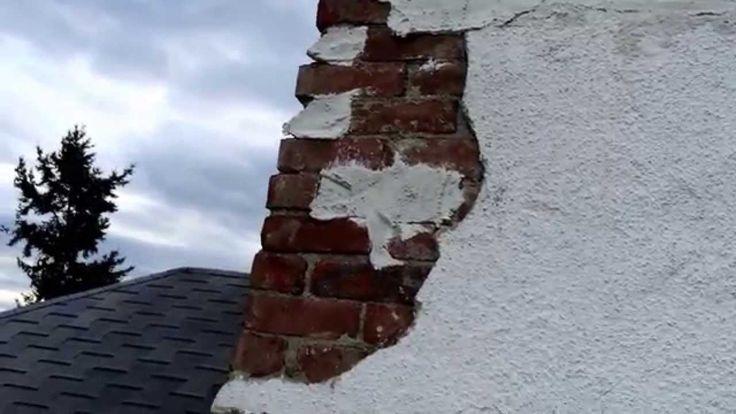 Stucco Chimney Repair, Crown Flashing Drip Edge - Flue Guru