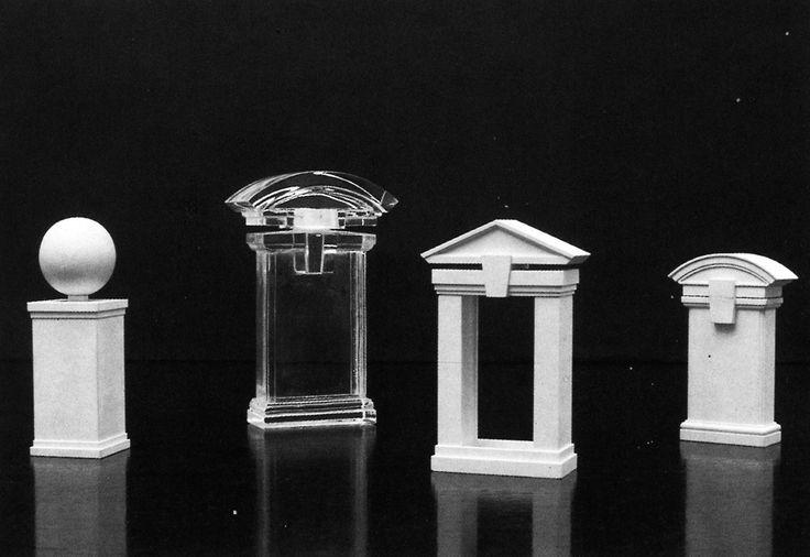 Ricardo Bofill, Christian Dior Perfume Bottles, 1983