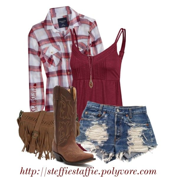 """Small Town Country Girl"" by steffiestaffie on Polyvore"