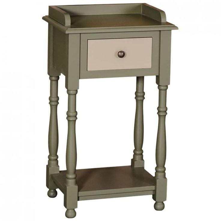 Telefontisch, Vintage Look, Beistelltisch, Landhausstil, Einrichten, Wohnen, Farmhouse Style