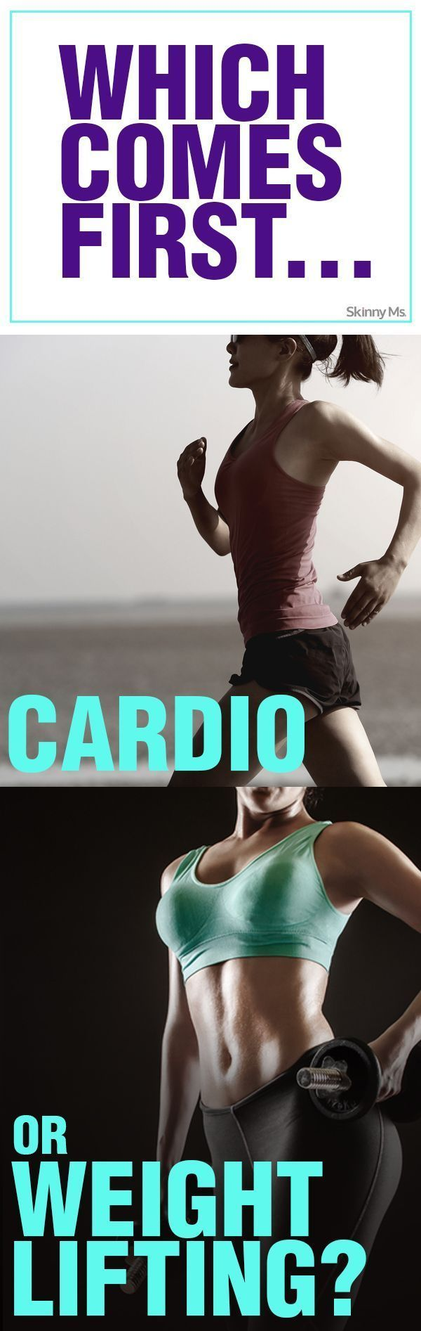 Which comes first cardio or weights pdf