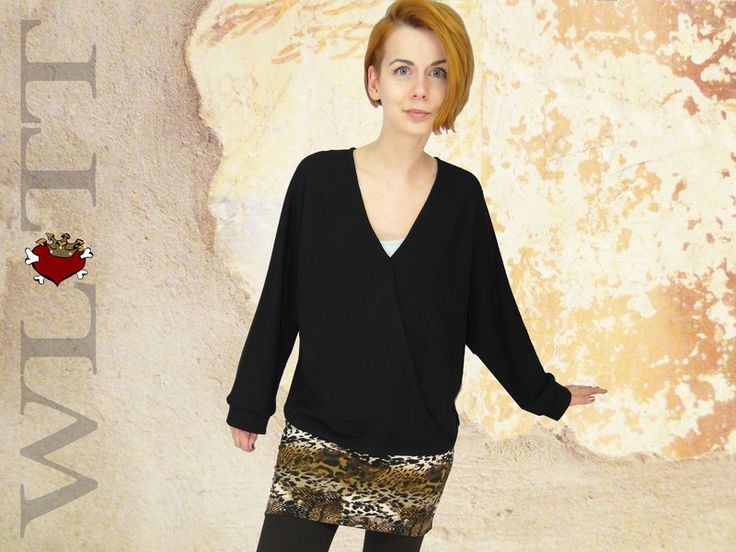 Pullover **ALAINE* Wickelpullover