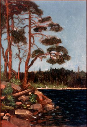 Tom Thomson Catalogue Raisonné | The Catalogue    Love the pines in Thomson's work!