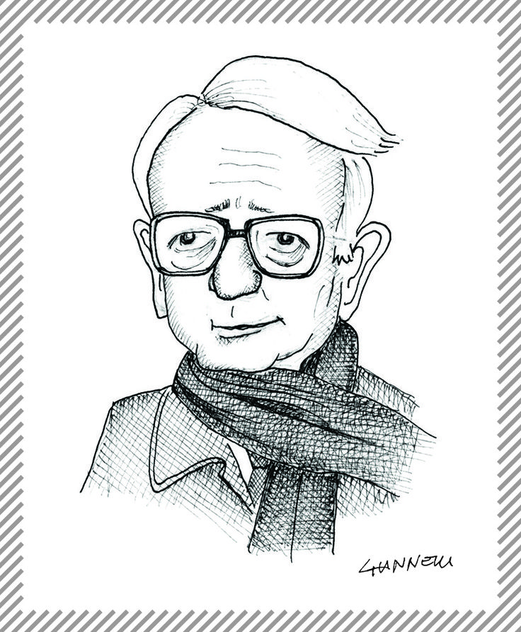 Enzo Biagi, giornalista e scrittore. E' stato un inviato speciale del Corriere della Sera e de La Stampa, direttore di Epoca, Il Resto del Carlino e Telegiornale Rai. #albumMilano #EnzoBiagi