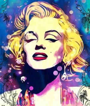 Art Marilyn Monroe Pop by HDSIM