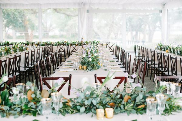 Lowndes Grove Plantation | Winter wedding decor | Charleston, South Carolina