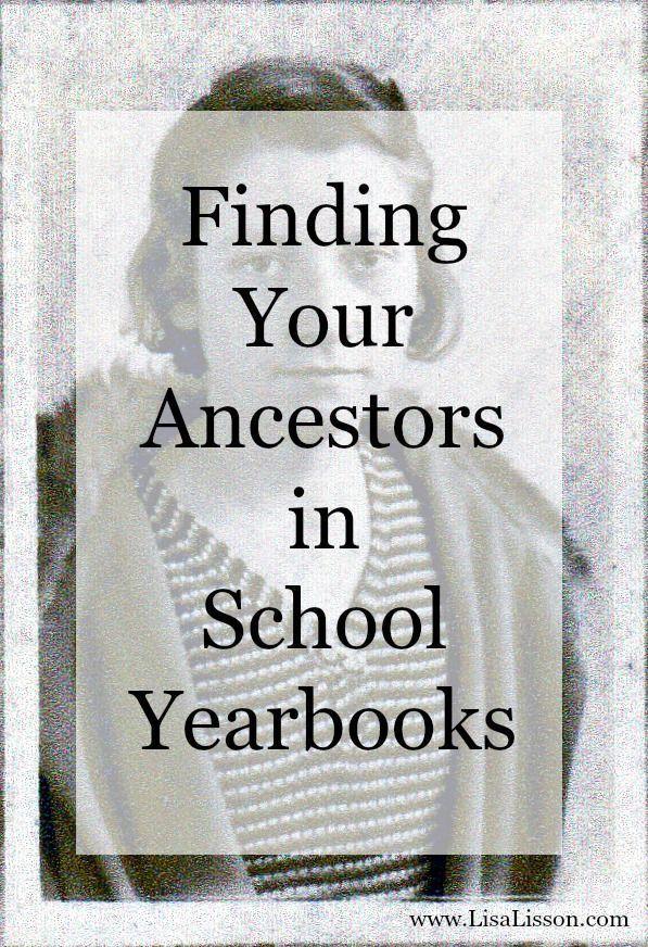 Finding Your Ancestors in School Yearbooks