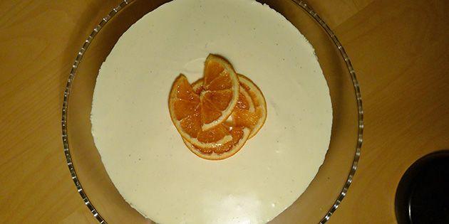 Jule-cheesecake