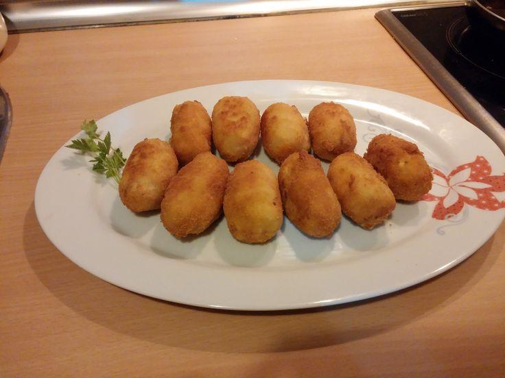Receta de Croquetas de Jamón Monsieur Cuisine Lidl Español Bellini