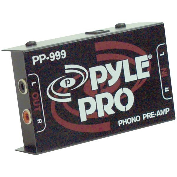 Phono Turntable Preamp - PYLE PRO - PP999