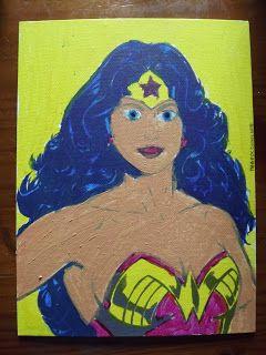 A Pretty Talent Blog: School Holiday Project: Dala Wonder Woman Kit