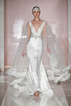 19 Best Wedding Trends Dramatic Capes Veils Images On Pinterest