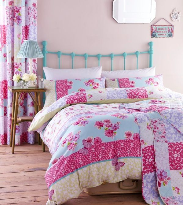 buy catherine lansfield home designer collection gypsy patchwork bed cotton rich duvet cover set from our duvet covers range at tesco direct