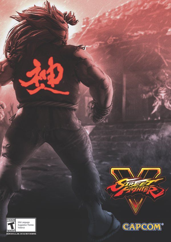 Akuma comes to  Street Fighter V
