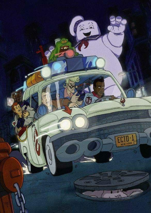 The real ghostbusters memories the real ghostbusters