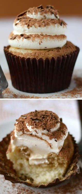 Tiramisu Cupcakes by Your Cup of Cake