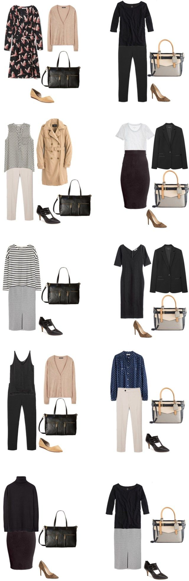 Basic Work Capsule Outfits 21-30 #capsulewardrobe #workwardrobe #workwear…