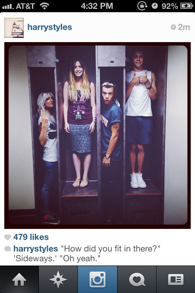 Lou Teasdale, Gemma, Haz, and Nialler all being perfect as always <3 -E
