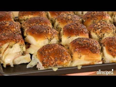 Party Recipes - How to Make Baked Hawaiian Sandwiches - YouTube