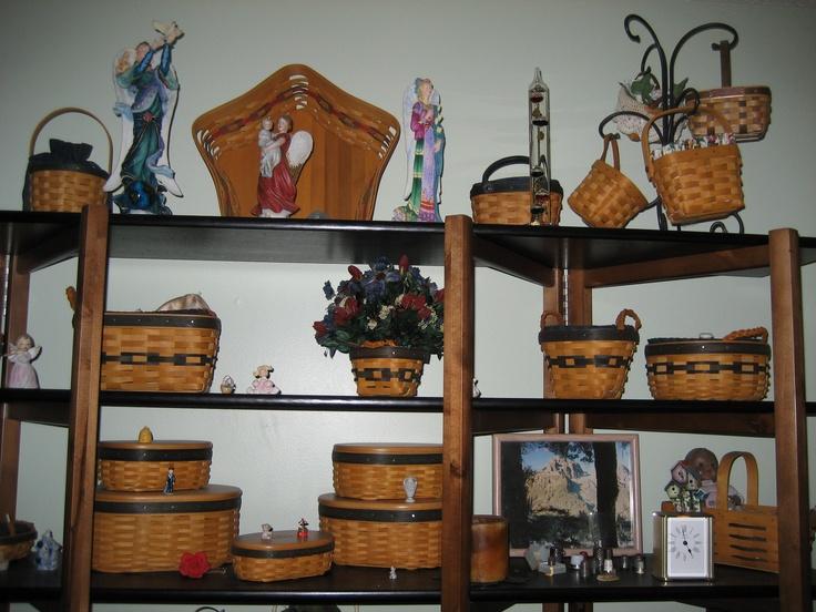 Longaberger Foyer Bench : Best longaberger baskets ways to decorate w them