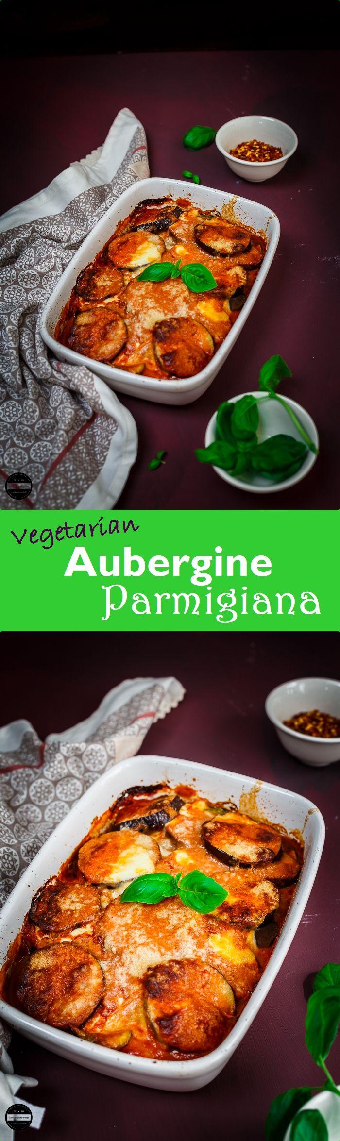 Vegetarian Aubergine Parmigiana