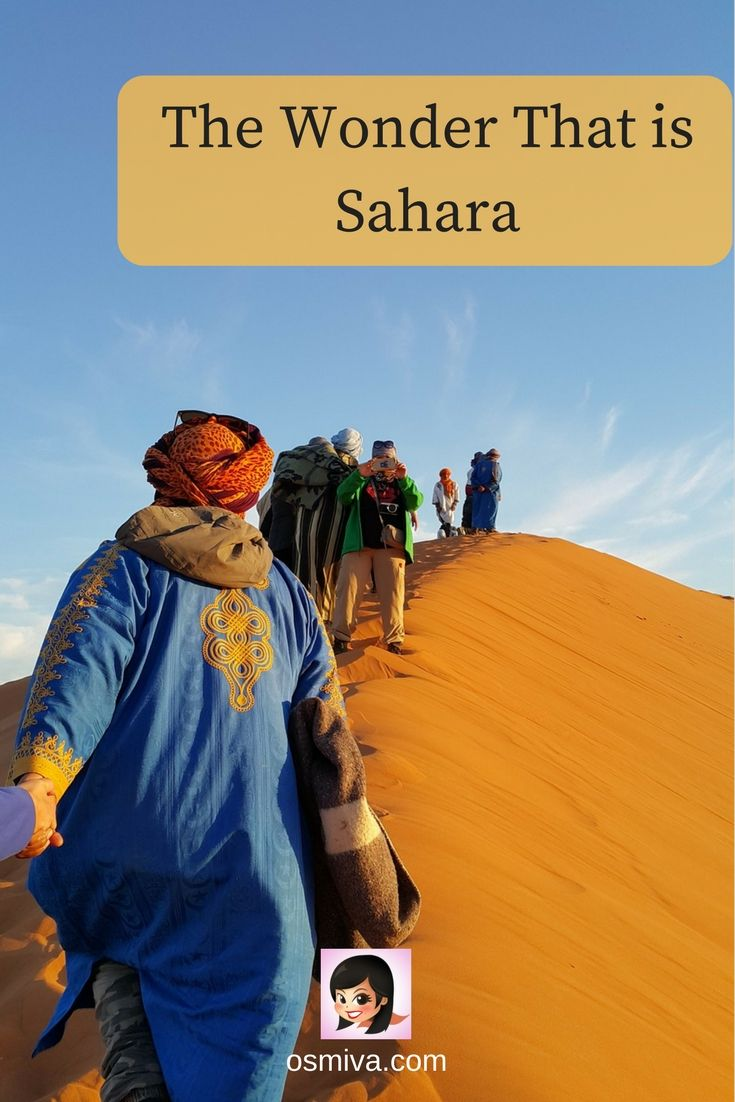 Sahara Desert Facts. This features important and interesting facts about the Sahara desert. #TravelDestination #Africa #SaharaDesert