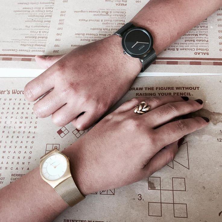 Randki w stylu #BeringTime #style#Bering#beringwatch#classic #white #black #dlaniej #dlaniego #couple #butikiswiss